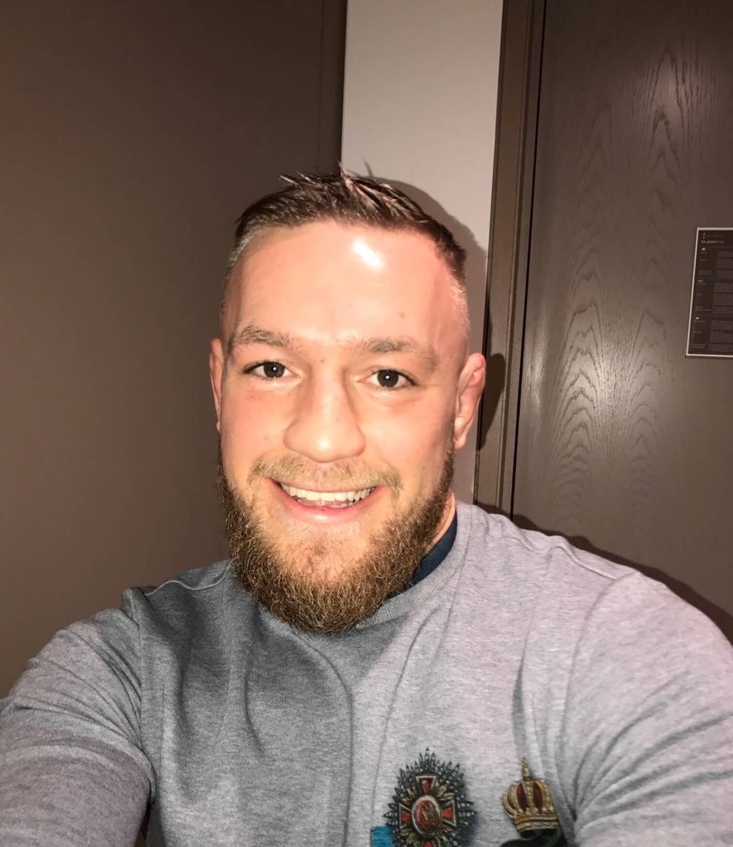 Conor Mcgregor smile