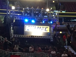 UFC on Fox in arena