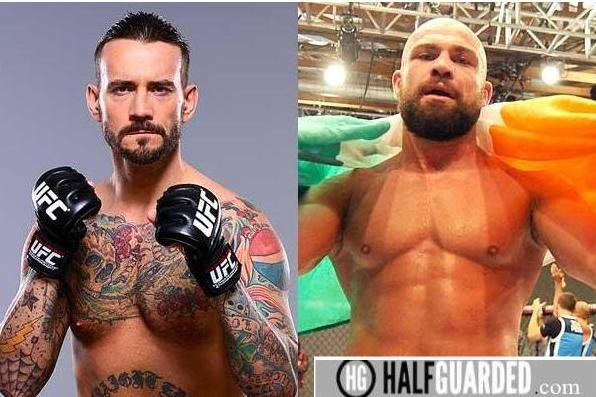 CM Punk and Cathal Pendred fighting
