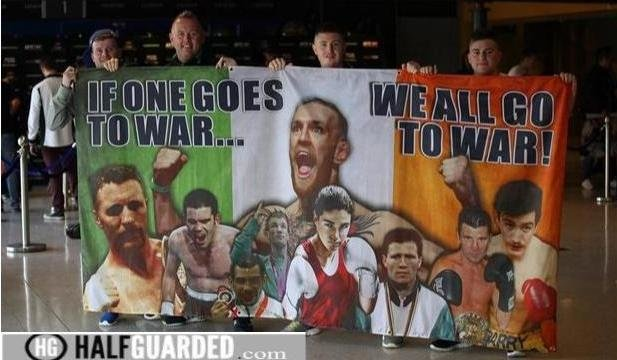 Conor Poster Irish Fans