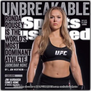 Ronda Rousey on Sports Illustrated