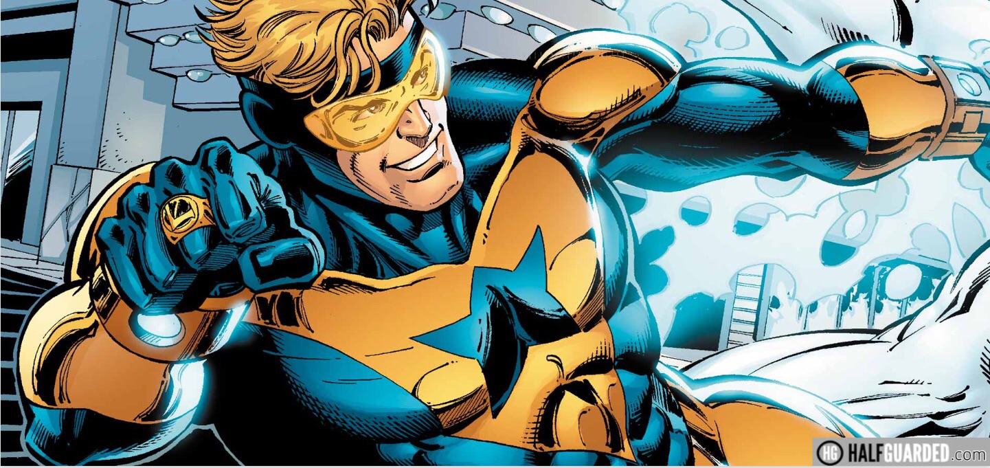 Booster Gold and Blue Beetle movie