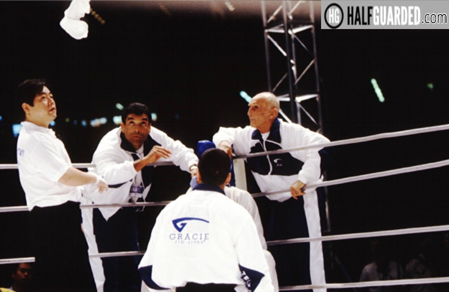Royce Gracie Quits