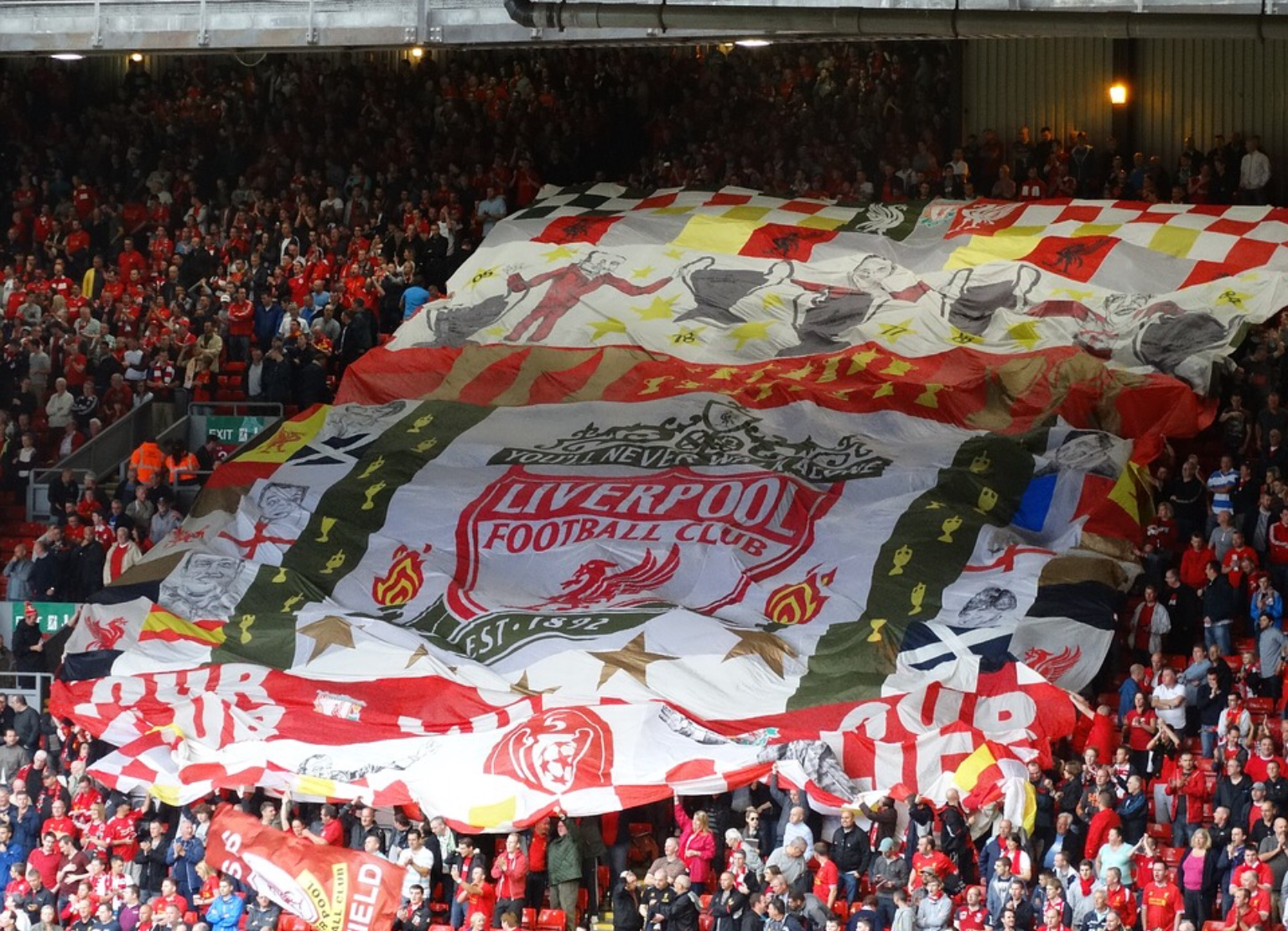 Liverpool fc the kop
