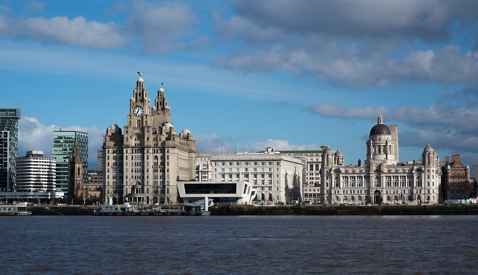 City of Liverpool skyline