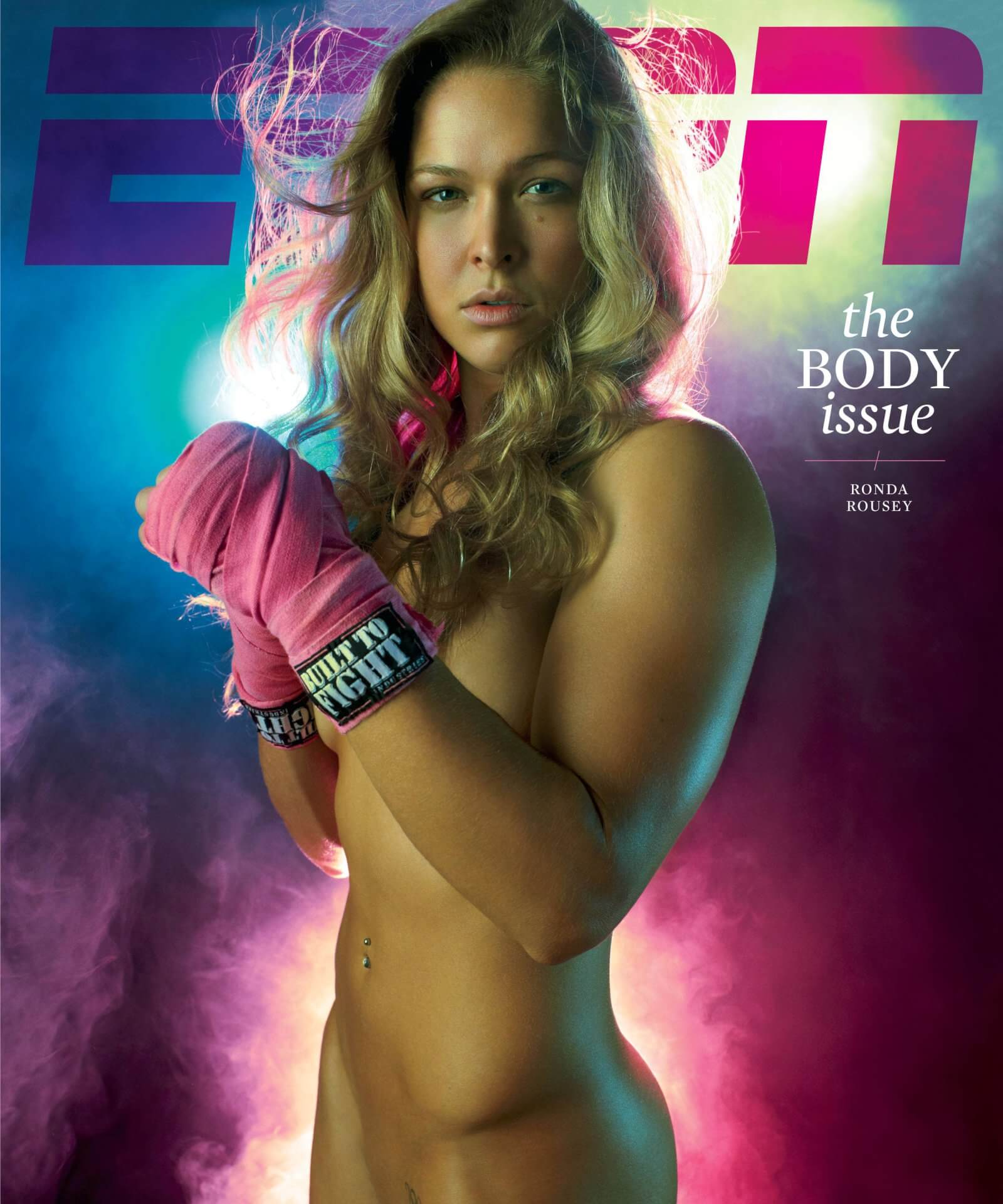 Ronda Rousey make Pose magazine