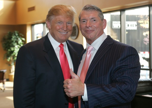 trump and wwe