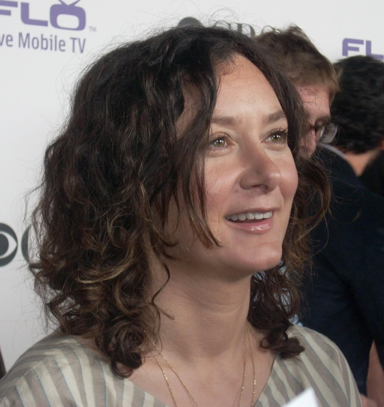 fake sara gilbert tweet