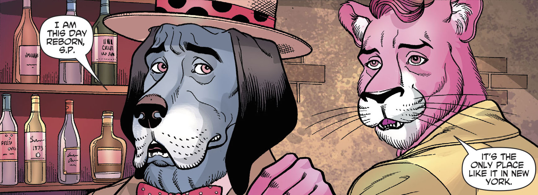 Exit Stage Left - The Snagglepuss Chronicles (2018-) 003-013
