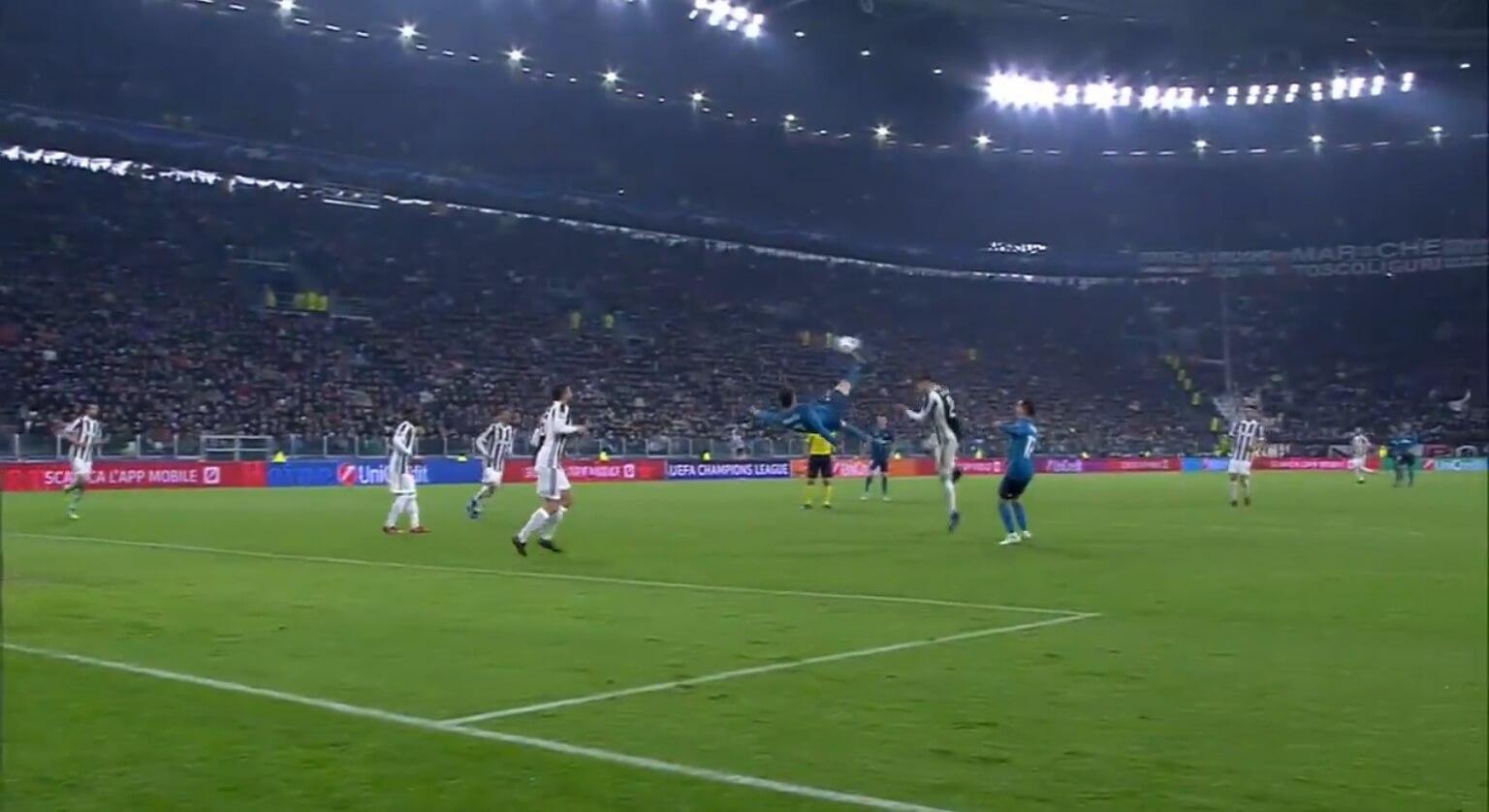 ronaldo scores goal