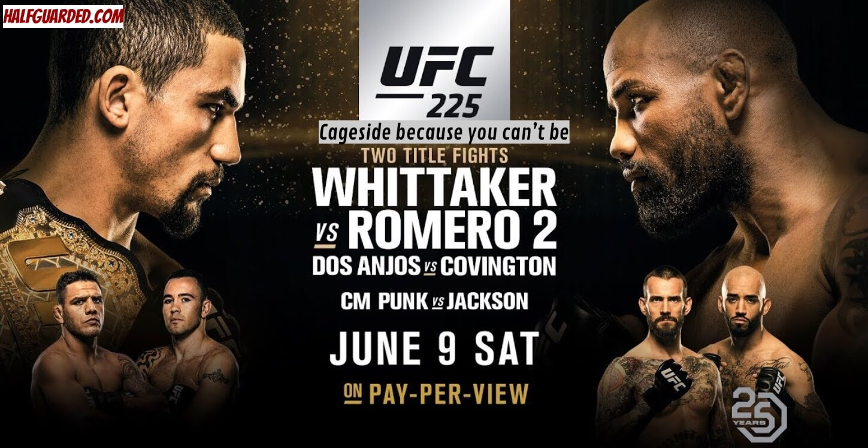 UFC 225 Results and UFC 225 Free Live Stream