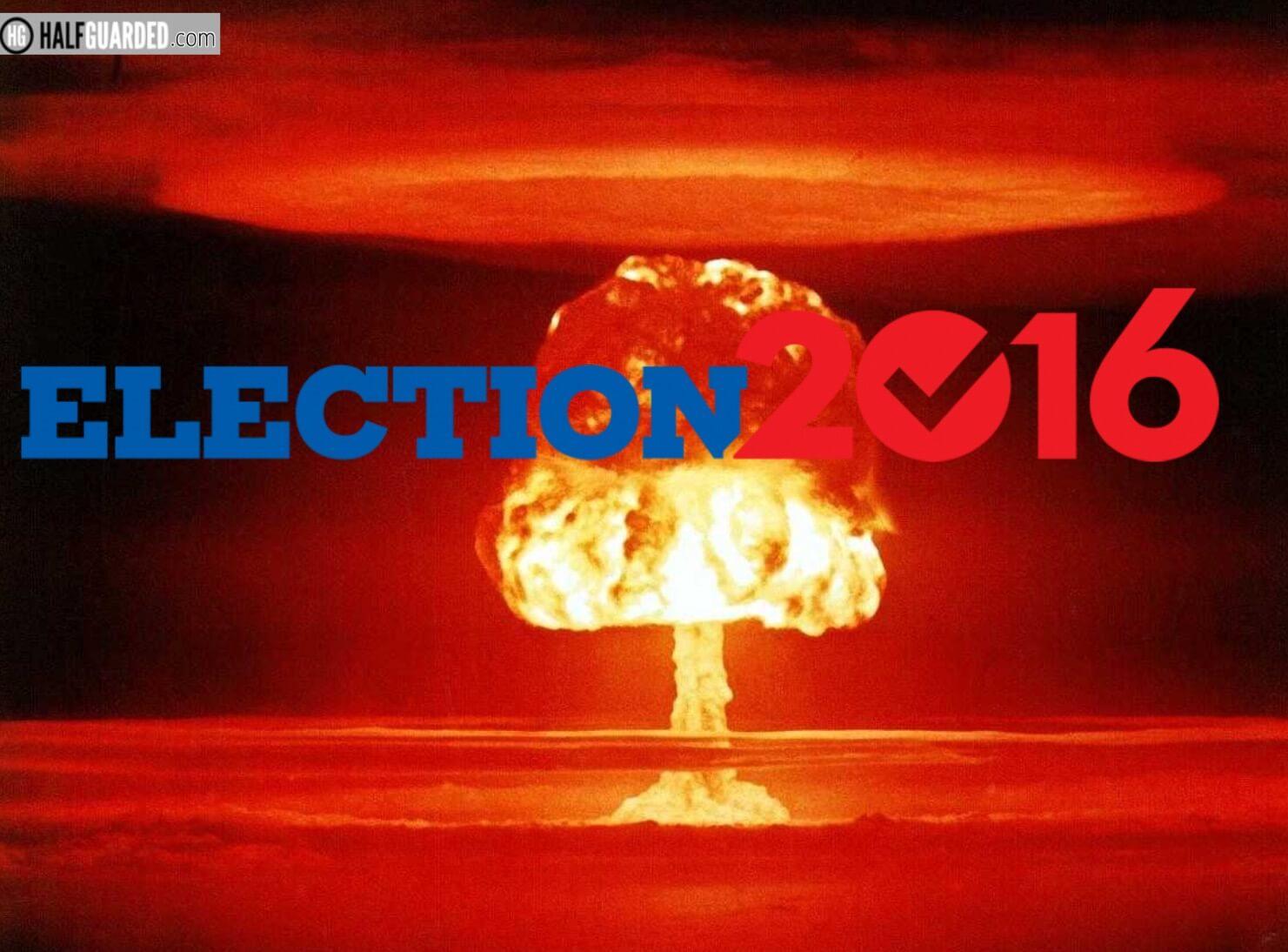 Election doom explosion