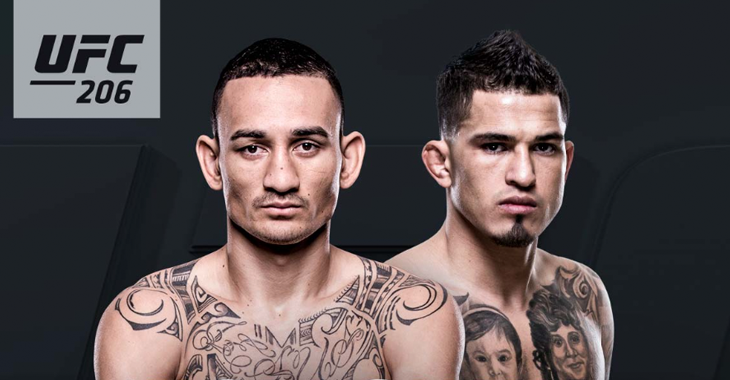 Pettis vs Holloway for Interim UFC FW Title at UFC 206; fight continues to undermine UFC's credibility