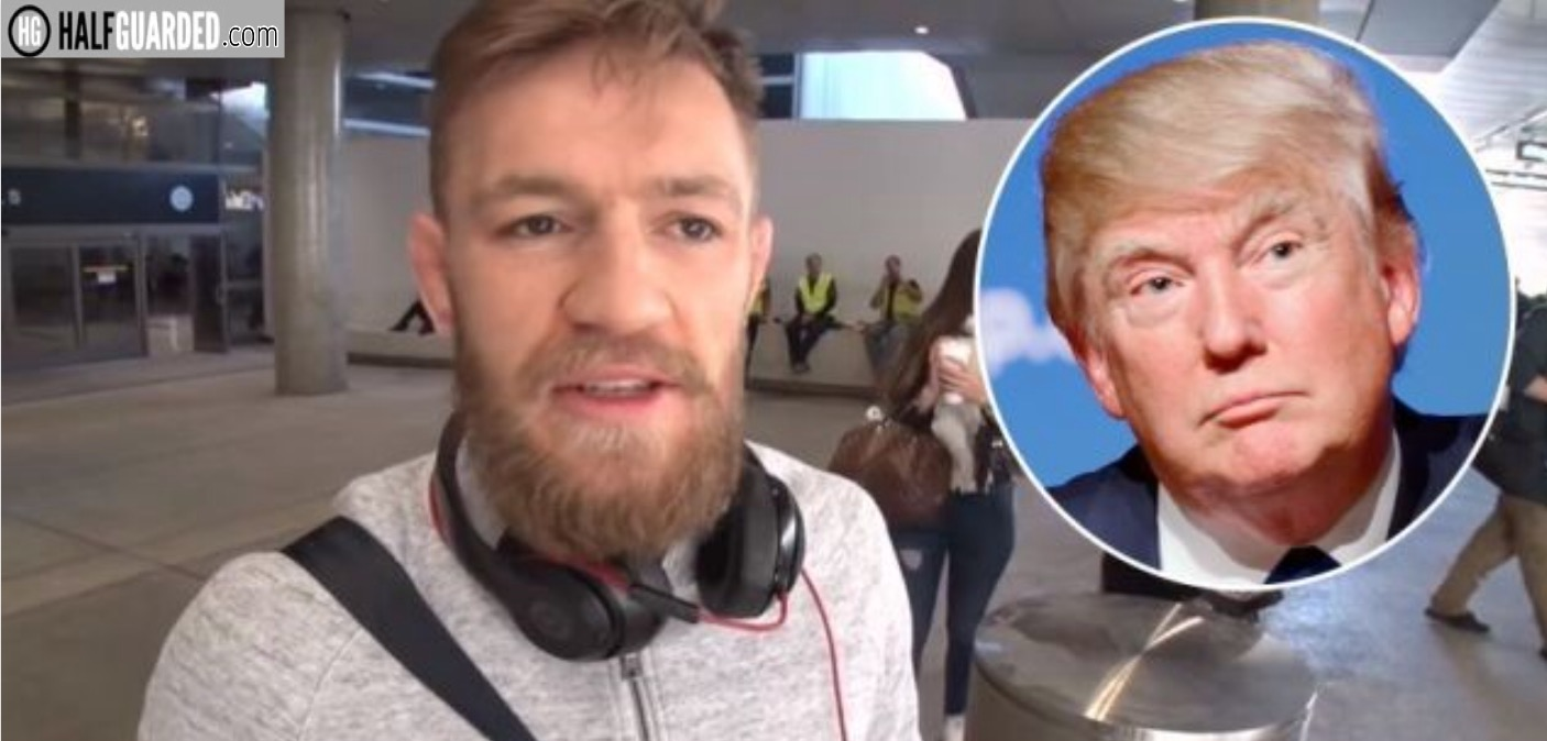Donald Trump and Conor McGregor - who is the puppet?