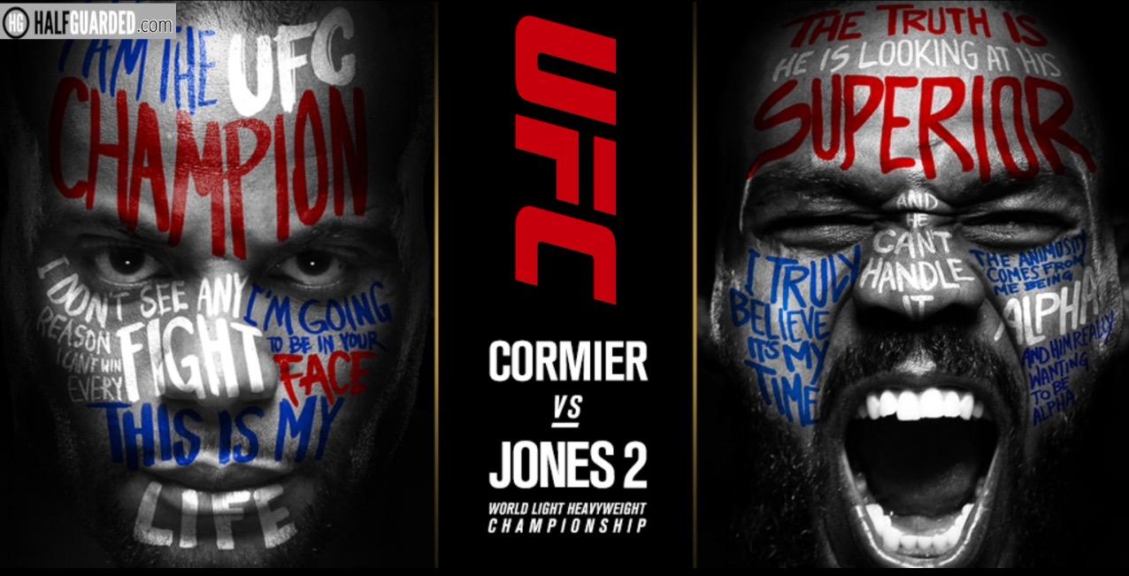 Jones vs Cormier art