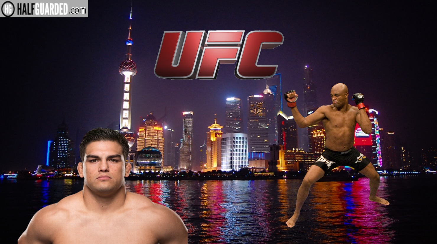 UFC shanghais Silva and Gastelum into fight