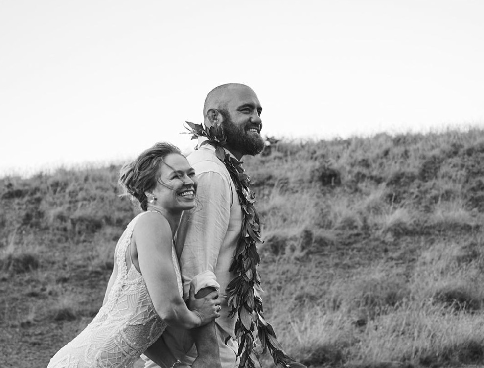 Travis Browne and Ronda Rousey married and happy