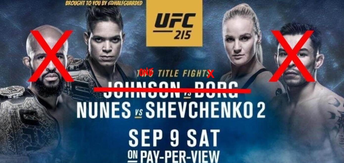 UFC 215 free live stream