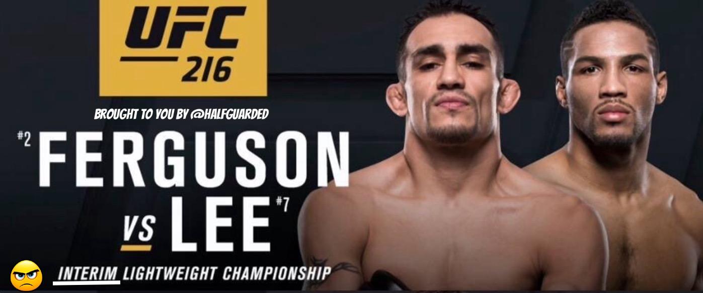 UFC 216 FREE LIVE STREAM