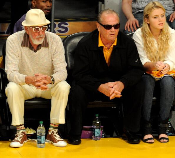 Lakers fans celebrity nba