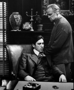 Mrs. Corleone is Johnny Fontane's godmother. Now Italians regard that as a very close, a very sacred religious relationship.