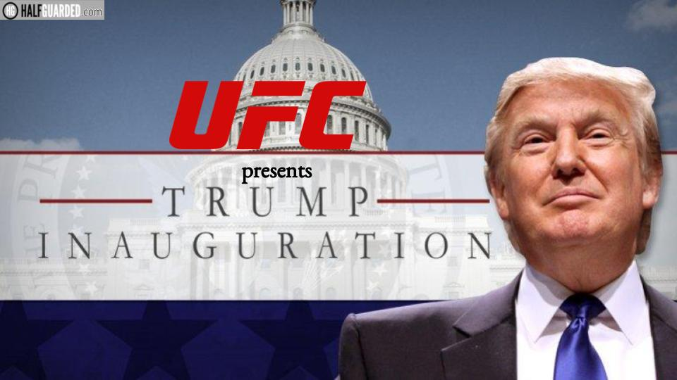 MUST WATCH VIDEO: UFC Produces President Trump's Inauguration