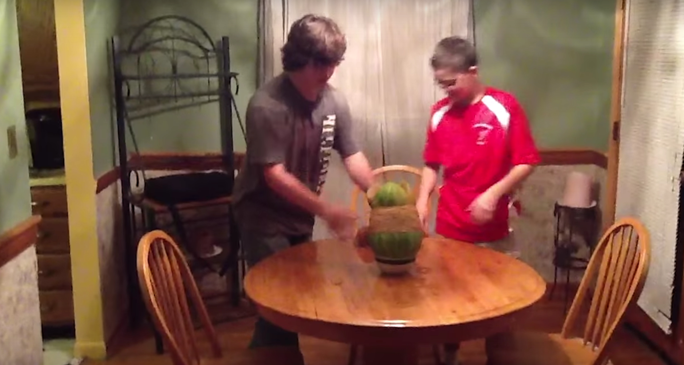 Watermelon Explosion Experiment Video