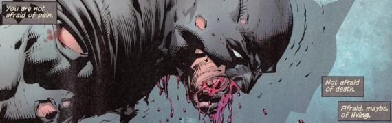 batman afraid of living