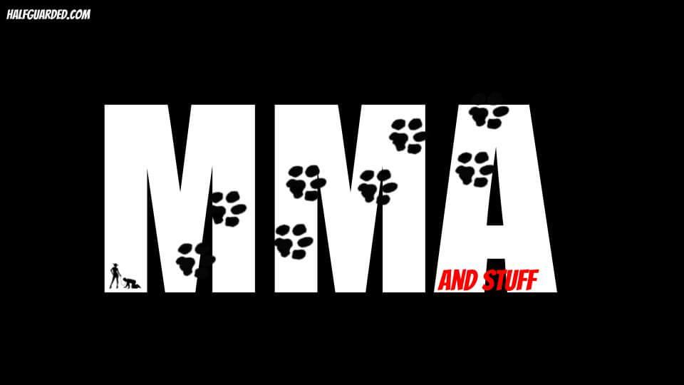 mma and stuff dog walk