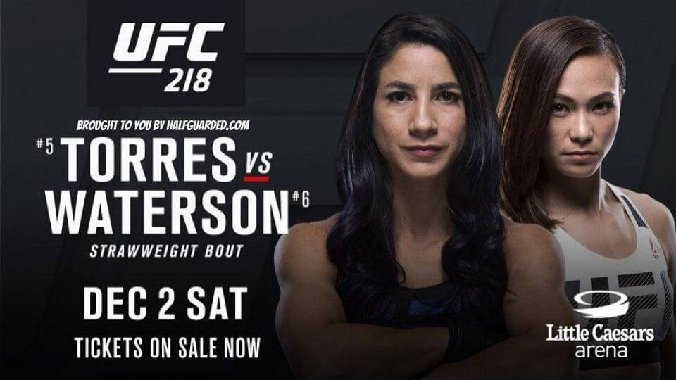 ufc 218 results