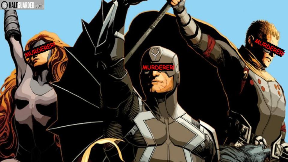 inhuman comic book murderers