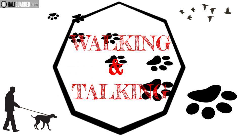 mma and stuff dog walk about