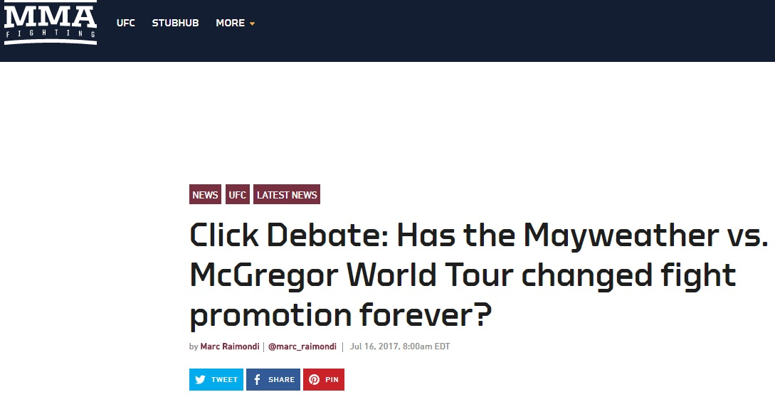 mayweather vs mcgregor hot takes