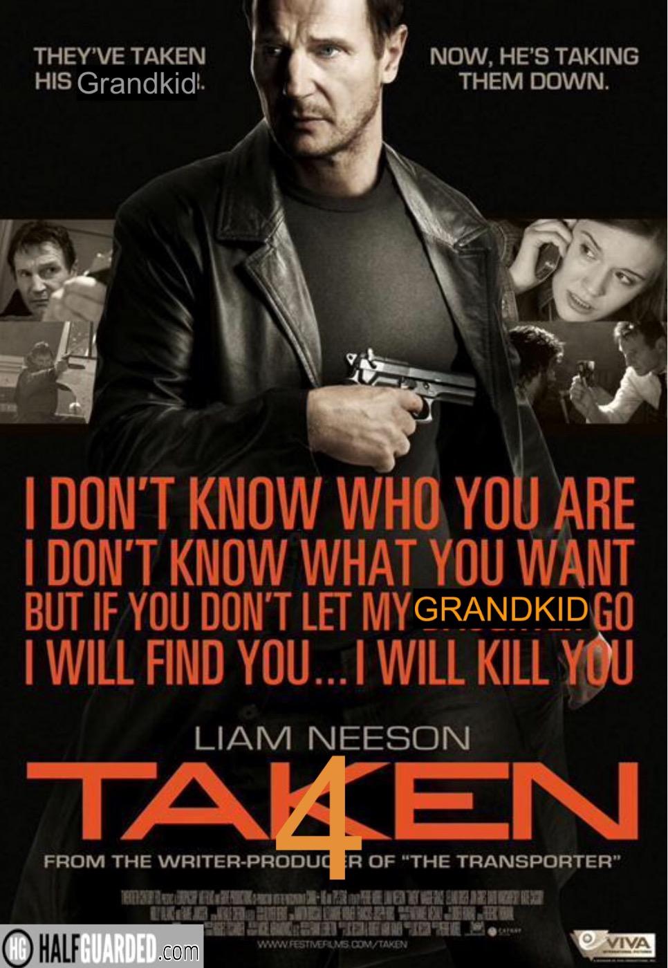 Taken 4 poster
