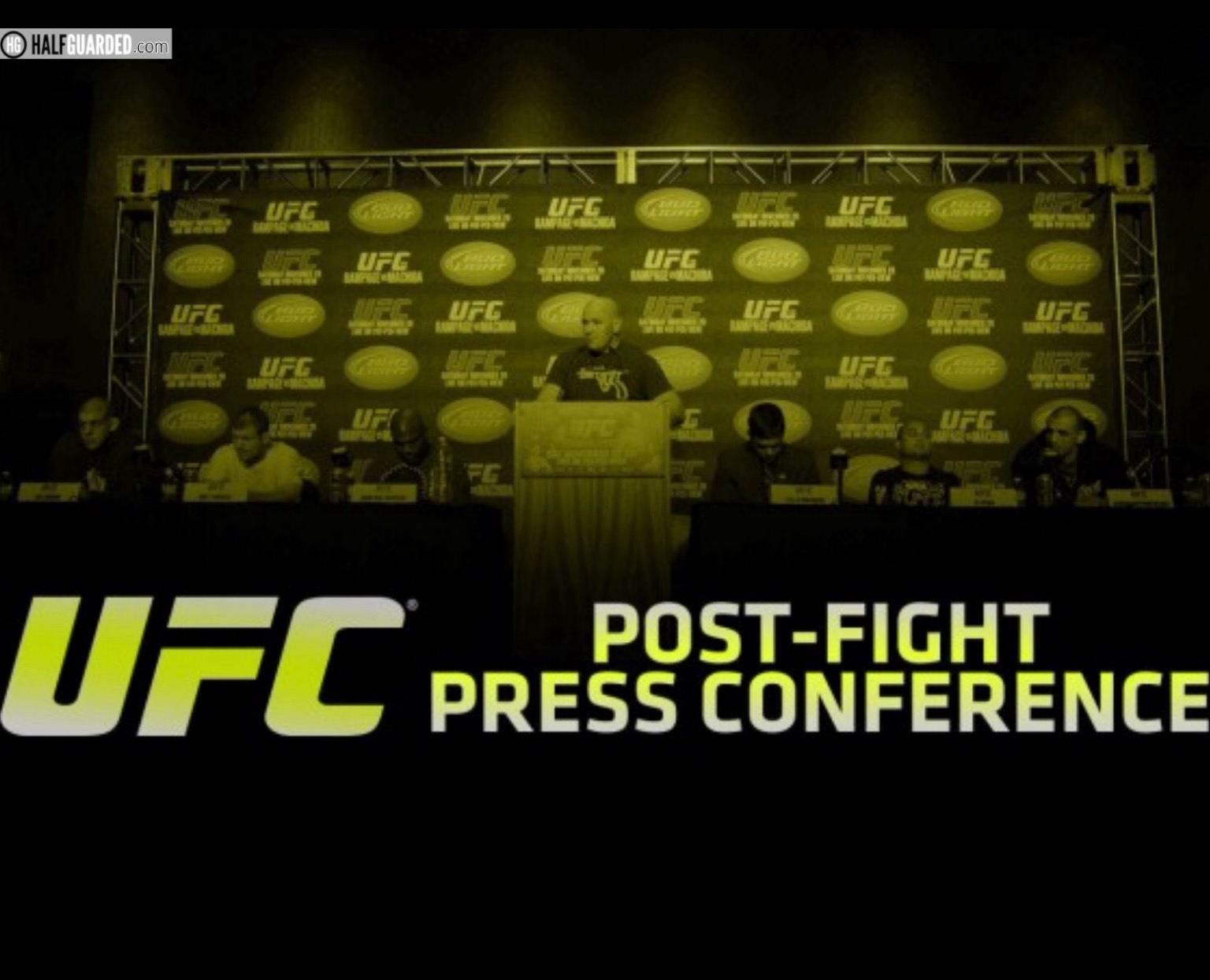 UFC press conference