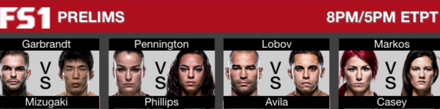 UFC 202 card