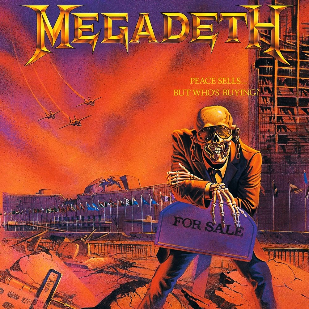 megadeath peace sells