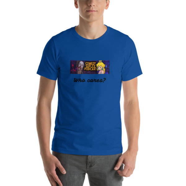 comedy suplex podcart t shirt