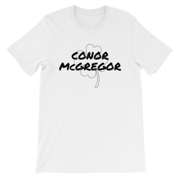 CONOR MCGREGOR SHAMROCK T SHIRT