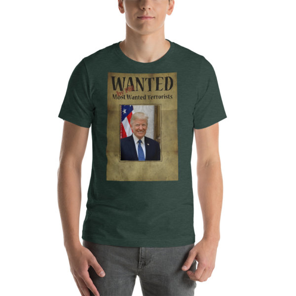 Trump Wanted by FBI T SHIRT