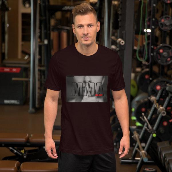 mma and stuff t shirt ad