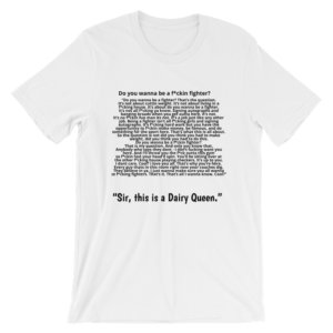 DANA WHITE SPEECH T SHIRT