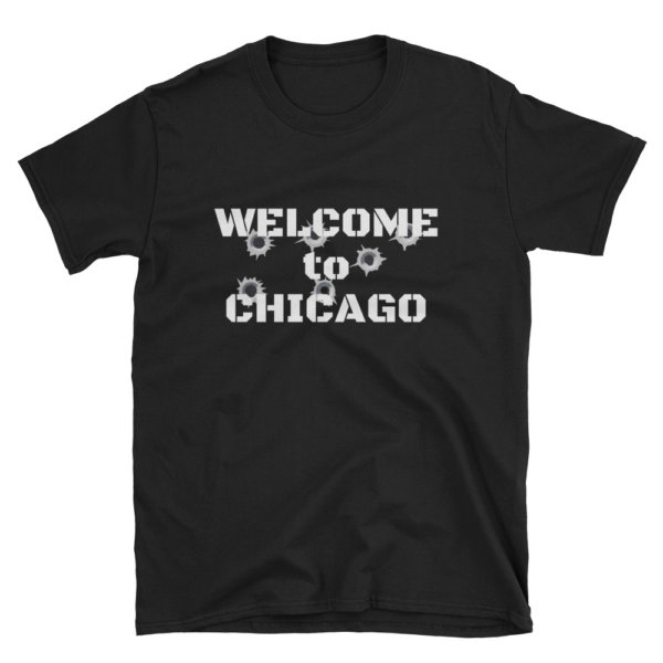 Welcome to Chicago t shirt ad