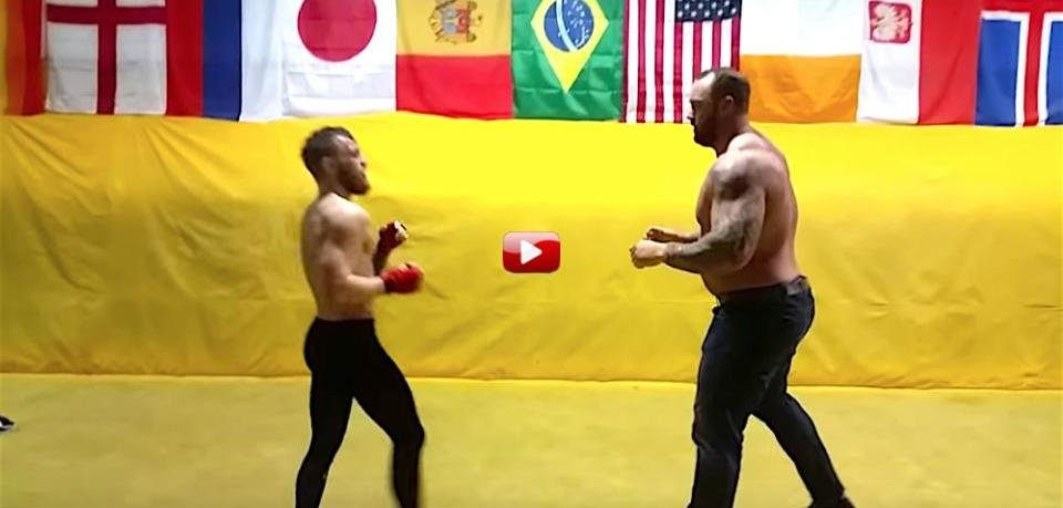 (not) EXCLUSIVE VIDEO: Footage of Conor McGregor filming Game of Thrones