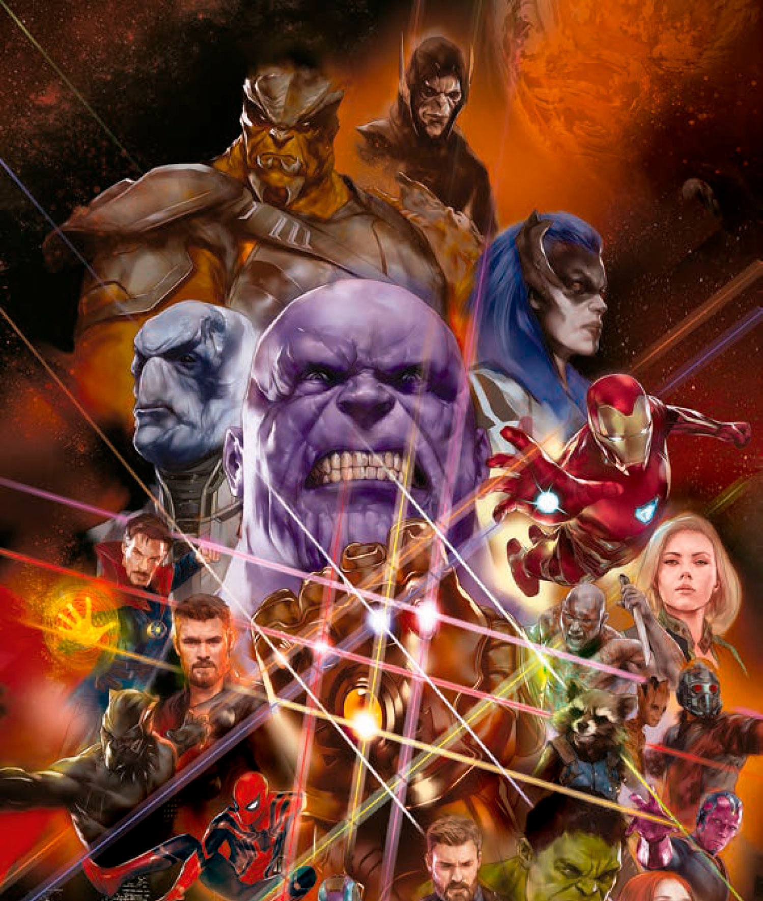 another avengers infinity war poster