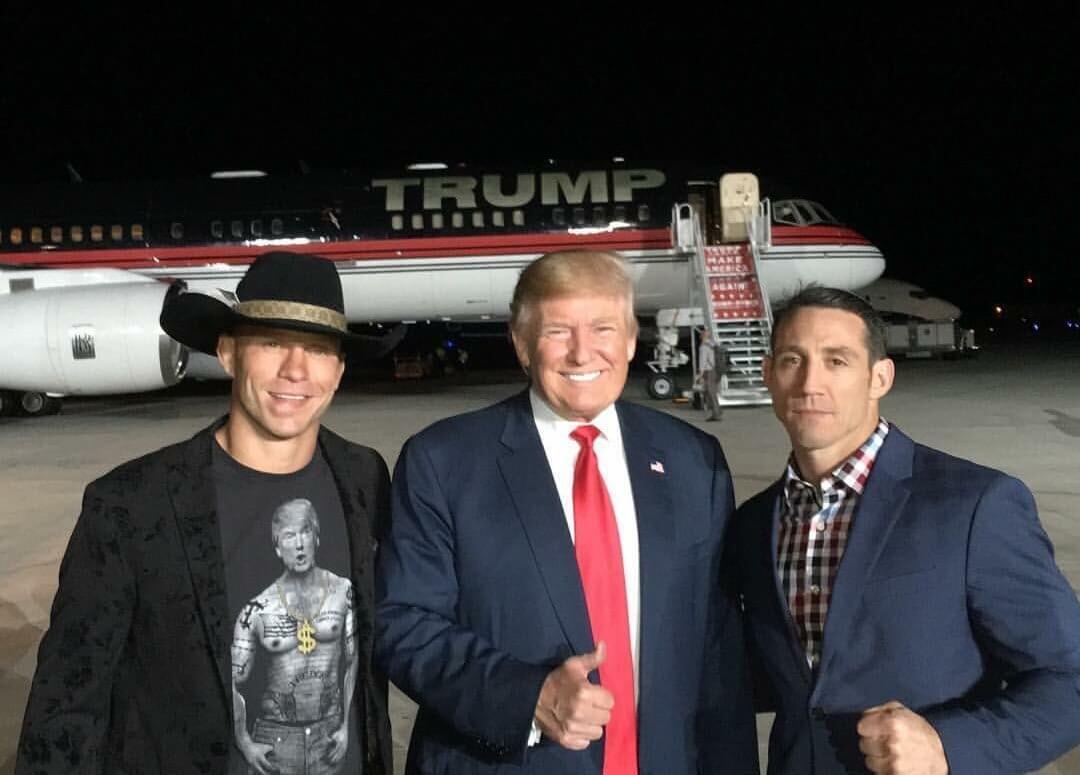 trump cowboy cerrone and tim kennedy