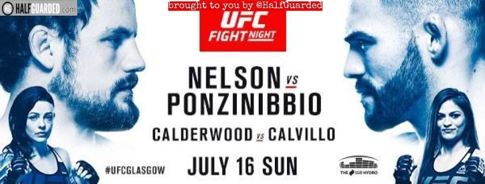 UFC Fight Night: Nelson vs. Ponzinibbio