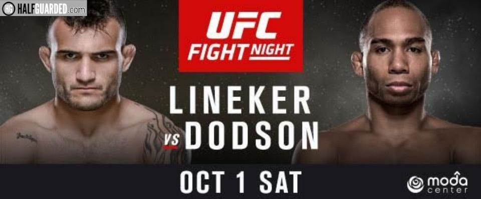 Watch UFC Fight Night 96 Lineker Vs Dodson