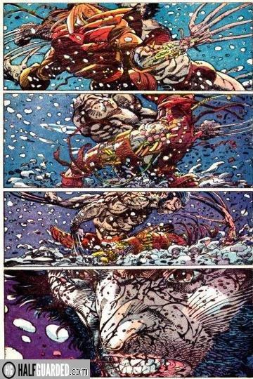wolverine vs deathstrike - best comic book fights