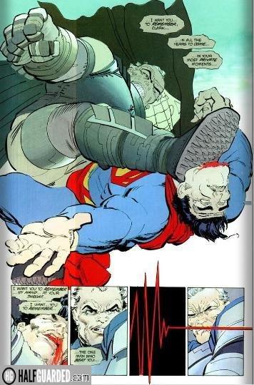 batman vs superman dark knight - best comic book fights